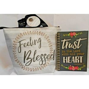 Marla Journal Trust in The Lord Plus  Lunch Tote